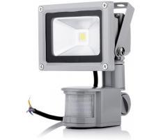 OEM Proiector LED exterior 20W alb rece cu senzor PIR