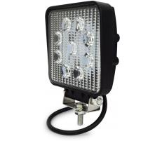 Proiector LED auto 27W patrat