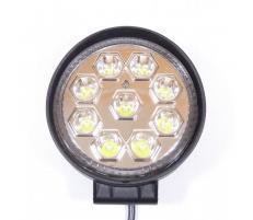 Proiector LED auto 27W rotund 1