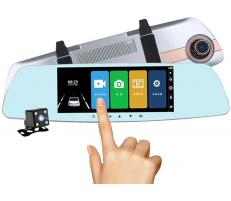 OEM Camera Auto Oglinda Full HD cu touchscreen SM7A0