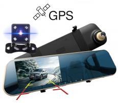 Zenteko Camera Auto Oglinda Offroad Full HD Zenteko Premium cu Tracker GPS SM720