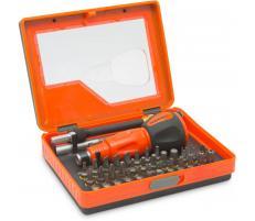 Handy Trusă de şurubelniţe mini, cu clichet, 36 piese