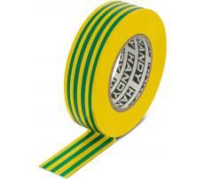 Handy Banda izolatoare- 19 mm x 20 m - Galben/Verde