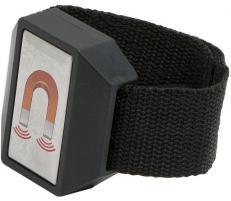 Handy Suport magnetic pt. piese metalice mici, fixat pe incheietura mainii, 50x25mm