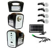 OEM Sistem Iluminare LED cu Incarcare Solara, 4 Becuri LED si Lampa Portabila GDLite-3