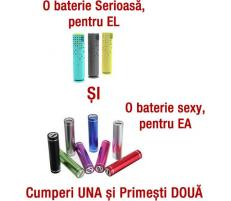 OEM Set 2 Baterii Externe Ultraportabile
