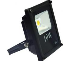 Proiector LED exterior 10W alb rece