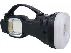 OEM Lanterna portabila cu 3 tipuri de iluminare si incarcare solara YD-105A