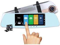 OEM Camera Auto Oglinda Full HD cu touchscreen SM7A0