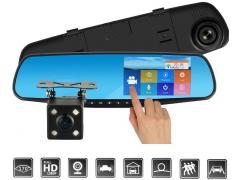 Zenteko Camera Auto Oglinda Zenteko Full HD TouchScreen SMCM96
