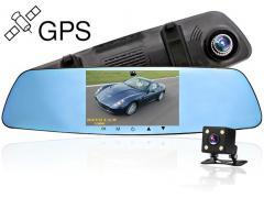 Zenteko Camera Auto Oglinda Full HD Zenteko Premium cu Tracker GPS SM710