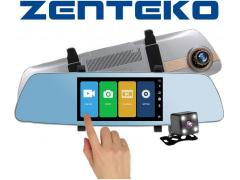Zenteko Camera Auto Oglinda Zenteko Full HD cu touchscreen SM 502CM