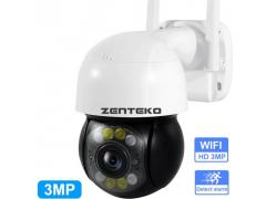 Zenteko Camera IP Wireless Full HD de Exterior PTZ Zenteko SM-KBX5