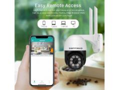 Zenteko Camera IP Wireless FullHD de Exterior ZENTEKO SM-ABQ10