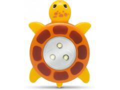 Phenom Lampă de veghe decorativă cu buton, model Broasca ţestoasă