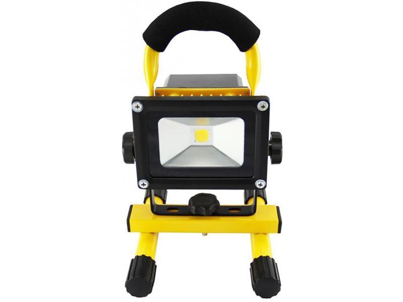 Proiector COB-LED 10W cu acumulator