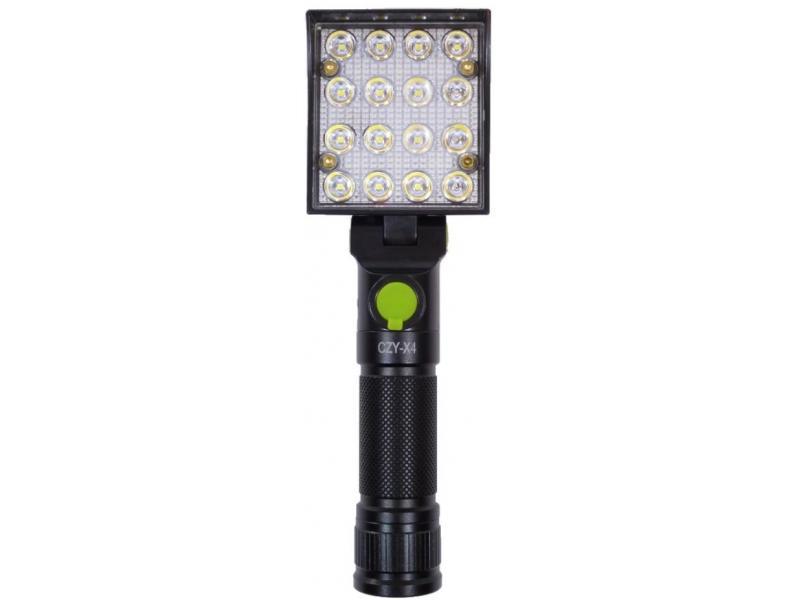 Lampa de lucru cu 16 LED cu carlig si magnet CZY-X4