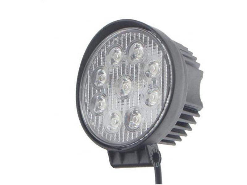 OEM Proiector LED auto 27W rotund 2