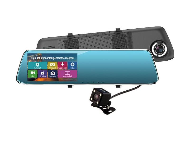 OEM Camera Auto Oglinda Full HD cu touchscreen SM 909
