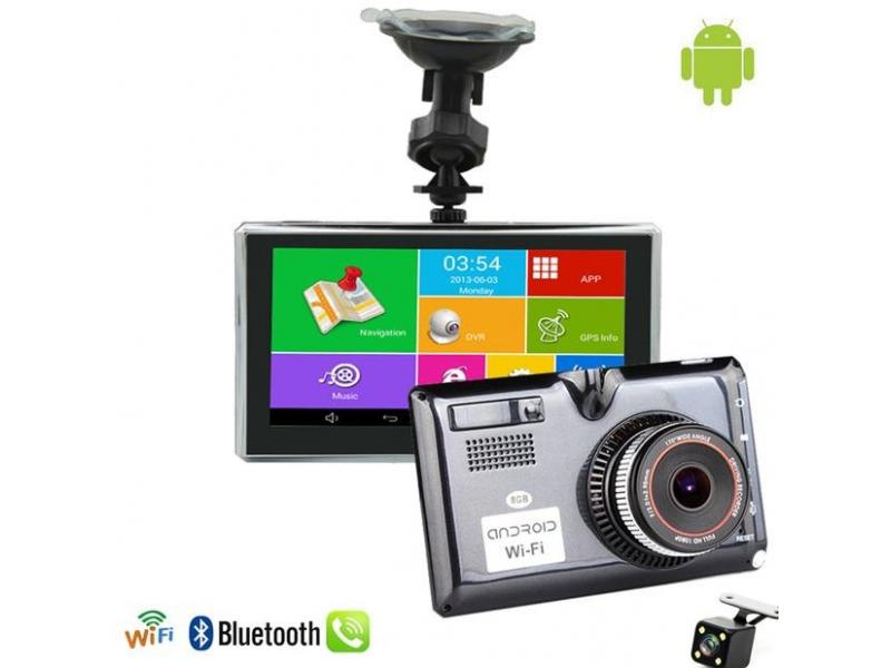 OEM Camera Auto Full HD cu GPS, Android, FM, BT si asistenta parcare SMGN52
