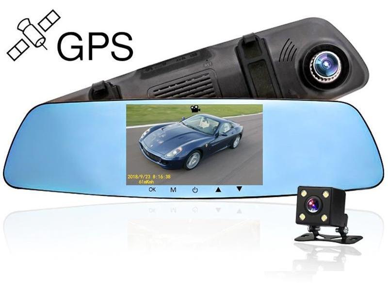 Zenteko Camera Auto Oglinda Offroad Full HD Zenteko Premium cu Tracker GPS SM710