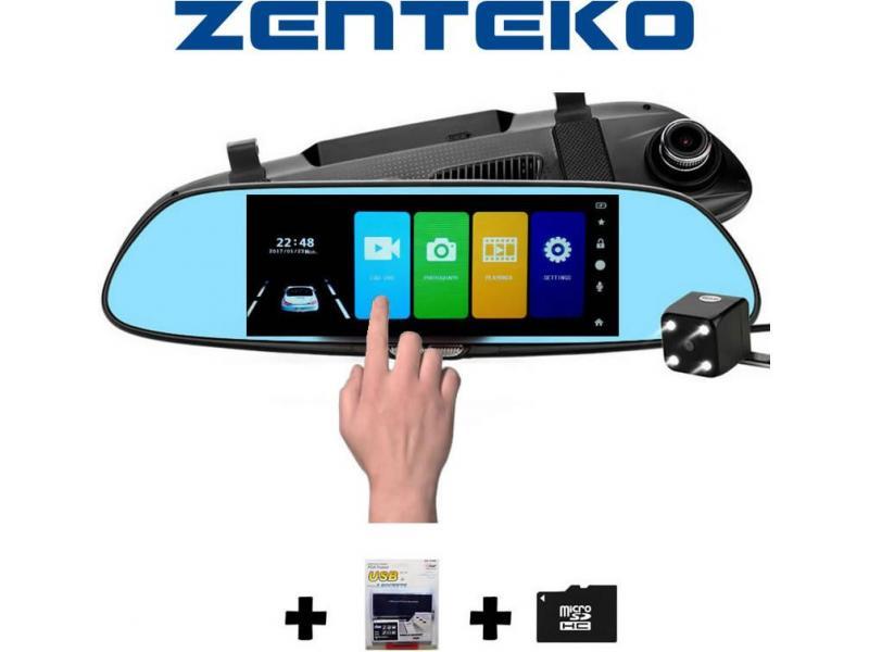 Zenteko Camera Auto Oglindă Offroad Zenteko Full HD Touch ecran 7 inch SM700