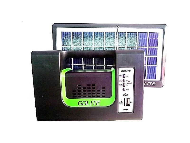 OEM Sistem Iluminare LED cu Incarcare Solara, 3 Becuri LED si Lampa Portabila GD-10