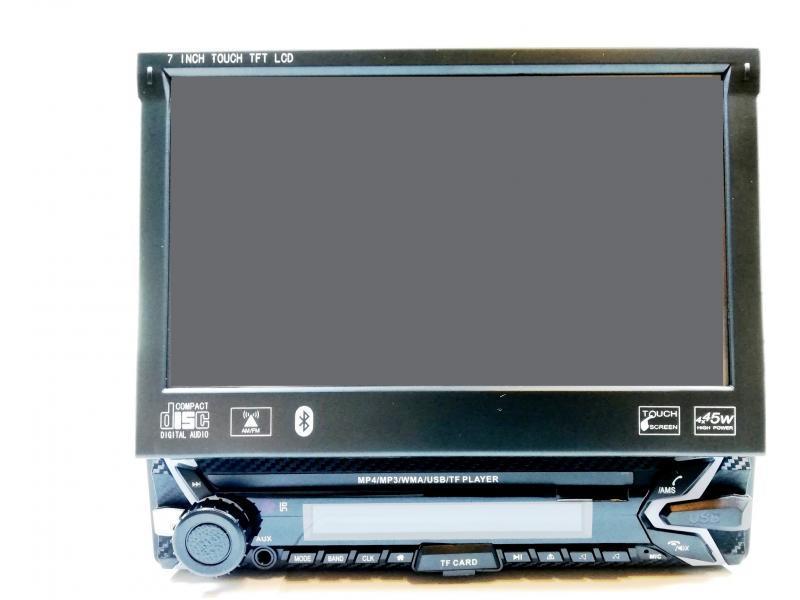 OEM Player Multimedia Bluetooth cu Ecran TouchScreen 7 inch Rabatabil Motorizat SMR-7150R