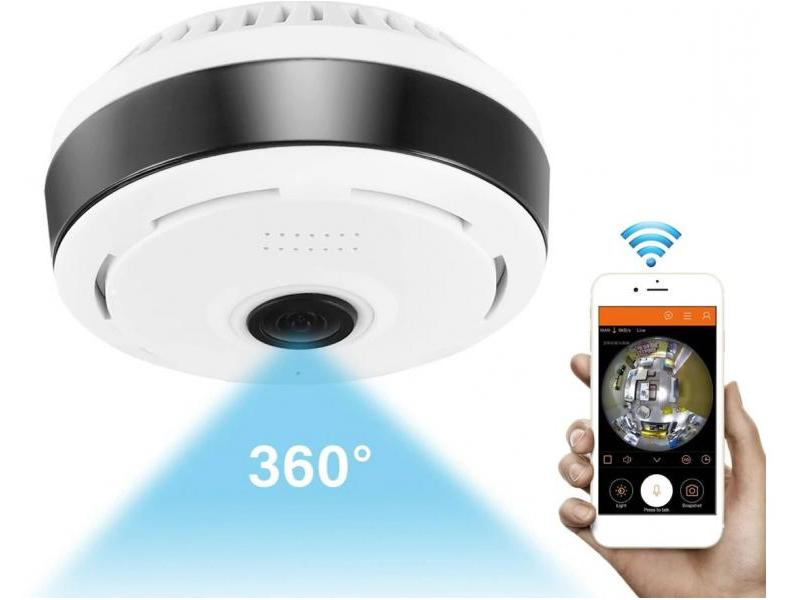 Zenteko Camera IP Wireless Zenteko cu filmare 360° SMVR351N