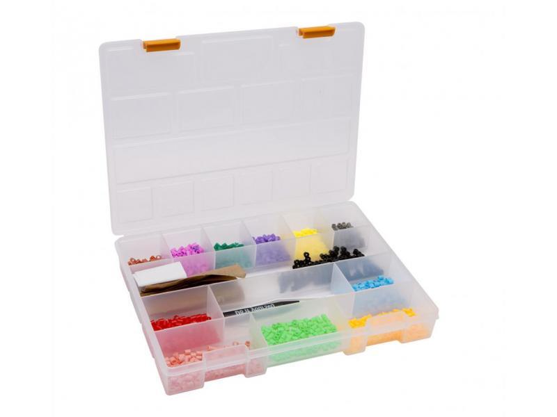 Handy Geanta mat. plastic. pt. stocare si sortare - 275 x 200 x 40 mm