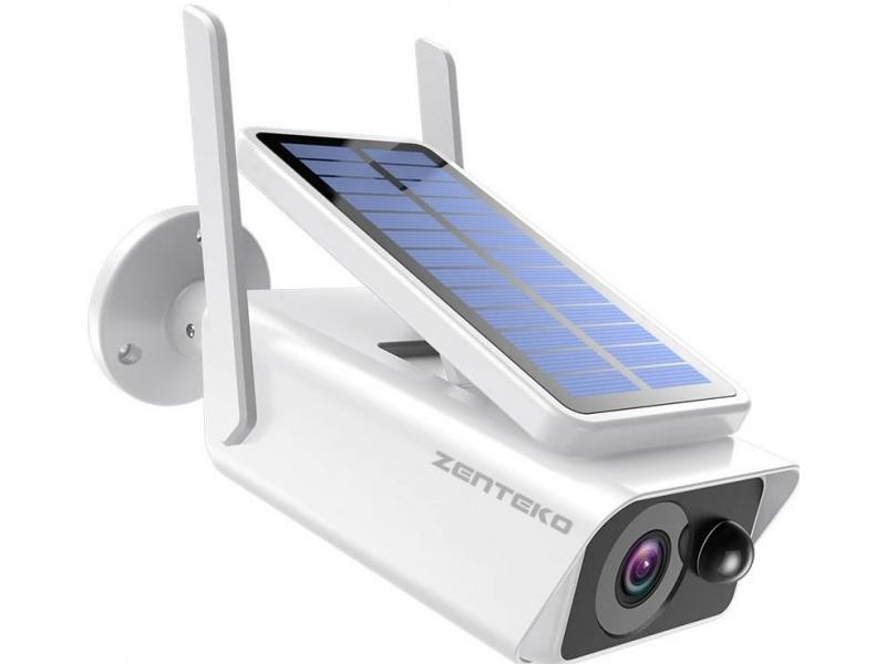Zenteko Camera IP Wireless de Exterior Zenteko Full HD cu Panou Solar SM25