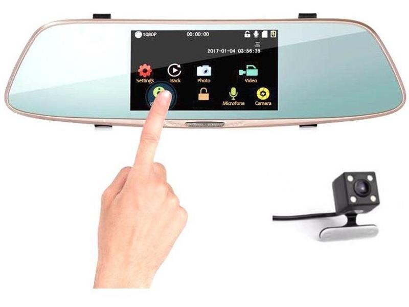 OEM Camera Auto Oglinda HD cu touchscreen SM 808