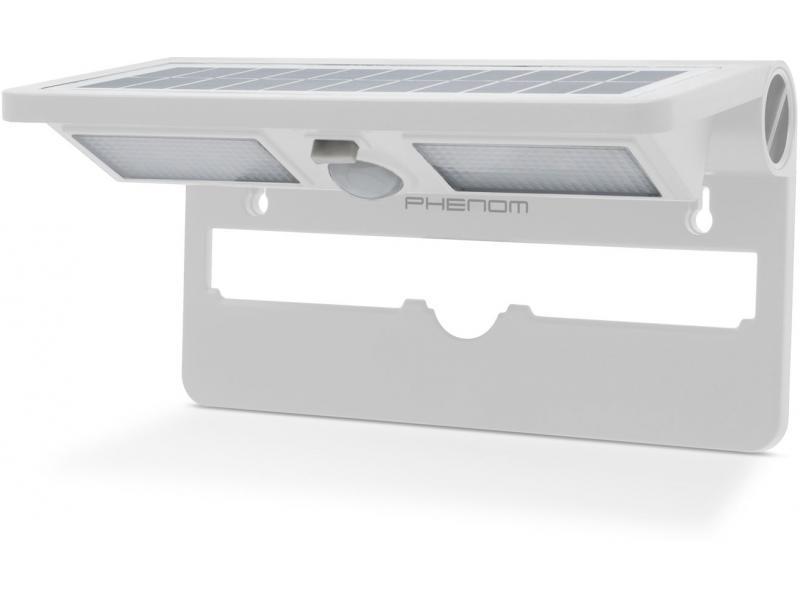Phenom Reflector solar cu LED, cu senzor de mişcare şi de lumină-ALB