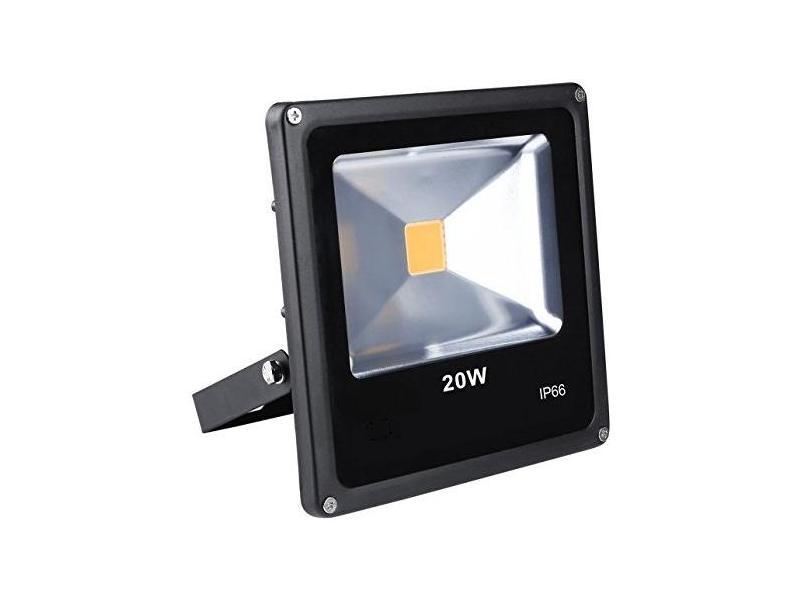 Proiector LED exterior 20W alb rece