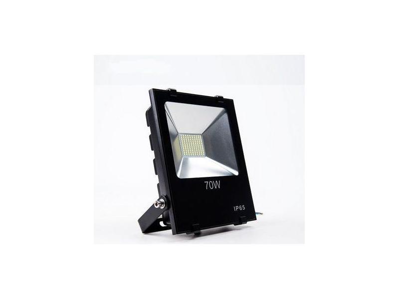 Proiector LED exterior 70W alb rece