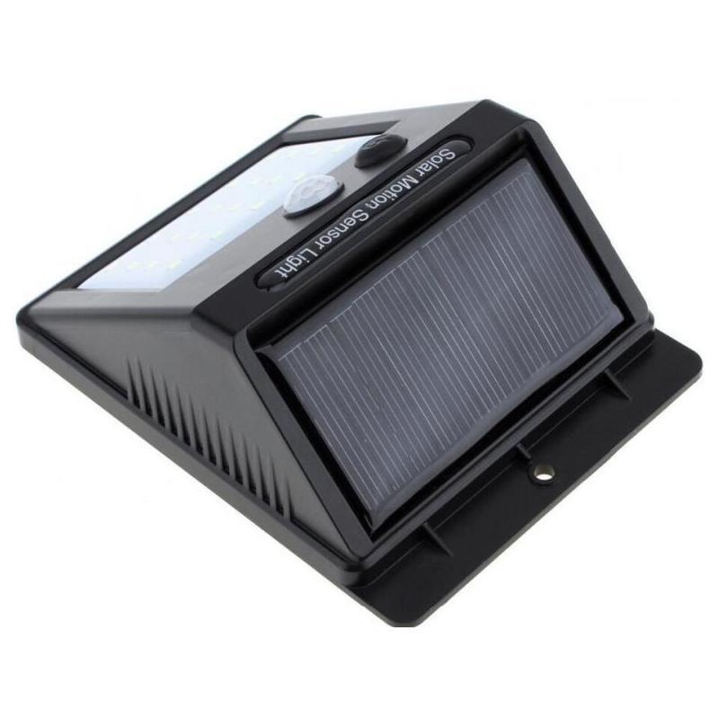 Lampa LED solara cu senzor de miscare si 20 de LED-uri