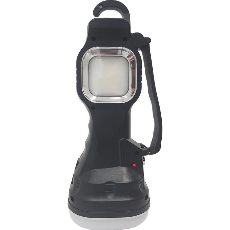 Lanterna portabila cu 3 tipuri de iluminare si incarcare solara YD-105A