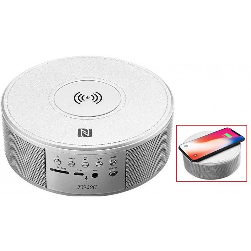 OEM Boxa Bluetooth Portabila cu Wireless Charge si Ceas JY-29C