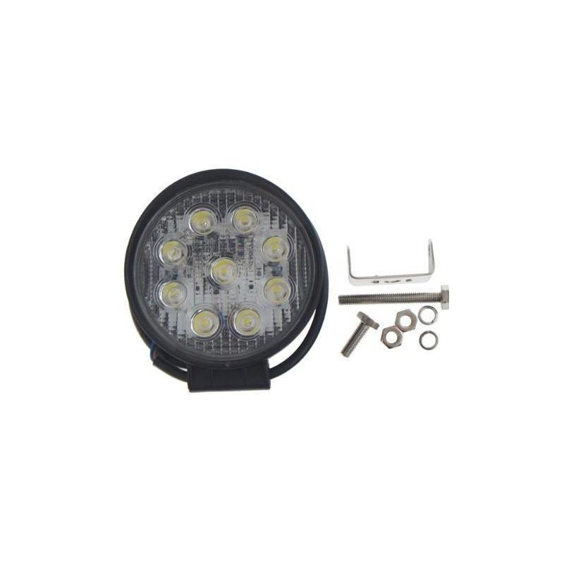 Proiector LED auto 27W rotund 2