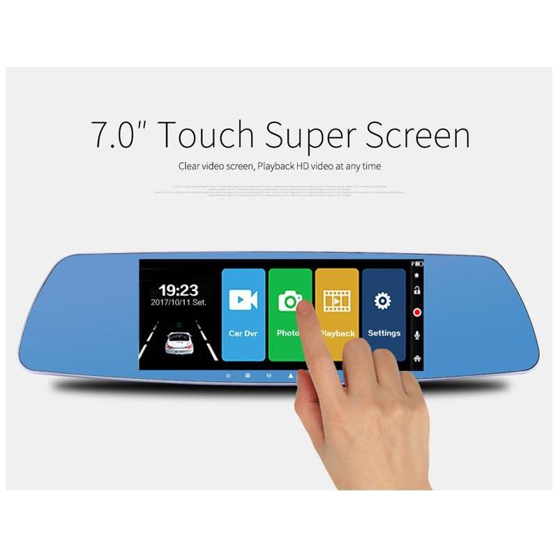 OEM Camera Auto Oglinda Offroad Full HD cu touchscreen SM7A0