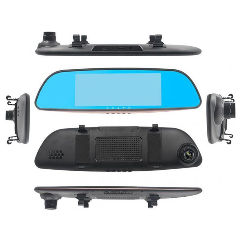 Zenteko Camera Auto Oglinda Zenteko Full HD SM402 cu Android, GPS, Touchscreen, 3G