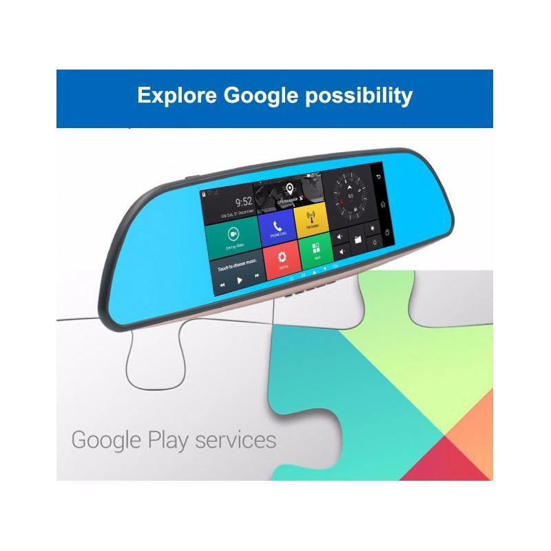 OEM Camera Auto Oglinda Full HD SM402 cu Android, GPS, Touchscreen, 3G