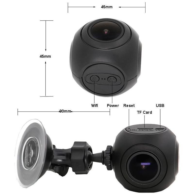 Camera Auto Full HD WiFi SMR8