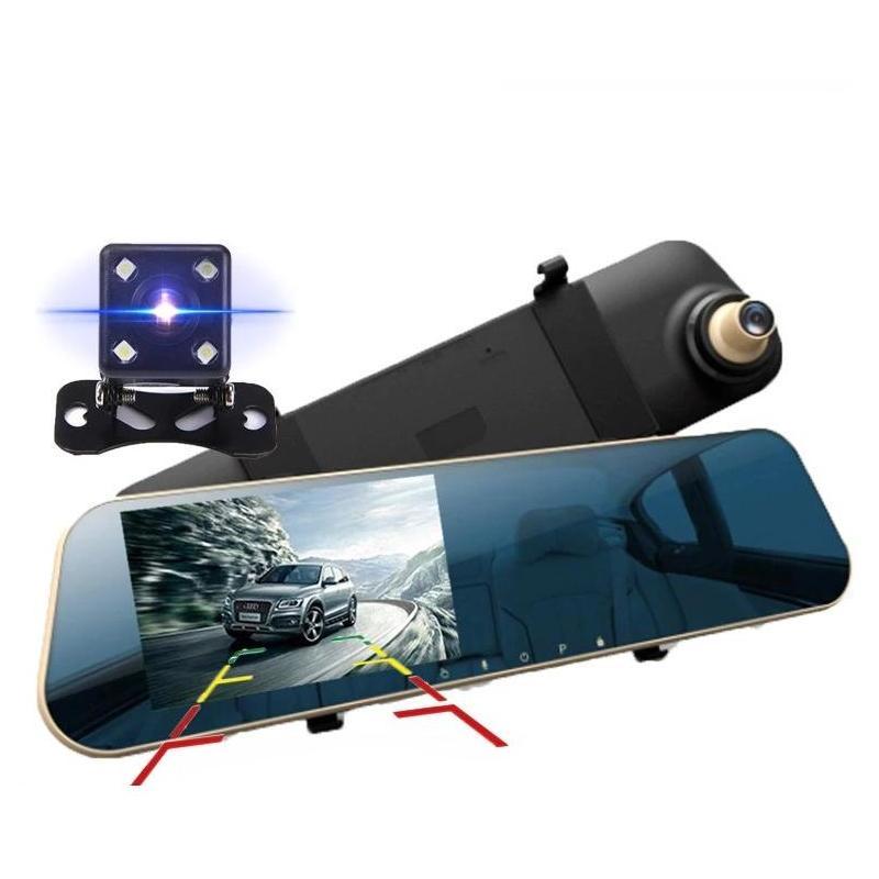 OEM Camera Auto Oglinda Full HD cu touchscreen SM435