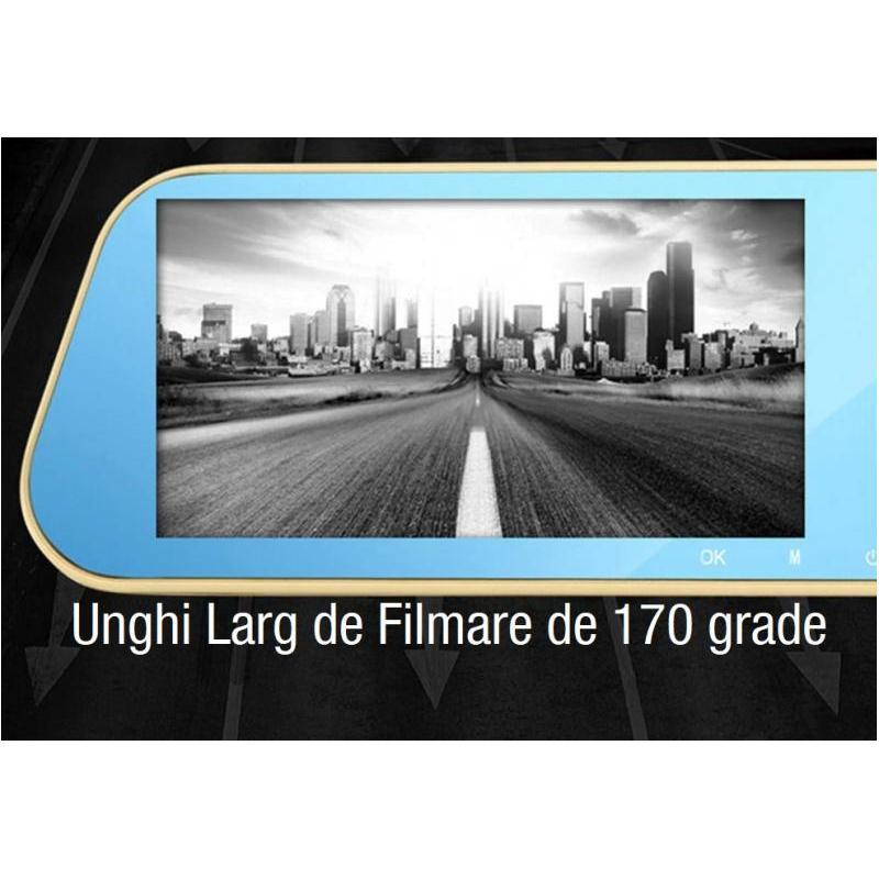 OEM Camera Auto Oglinda Offroad Full HD cu touchscreen SM435