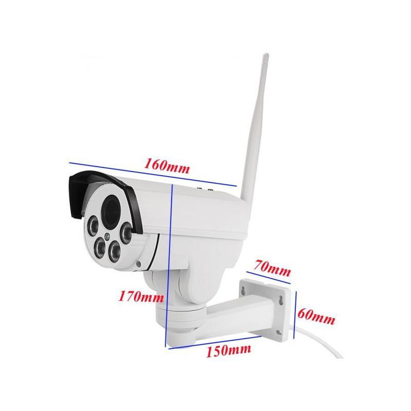 Zenteko Camera IP Wireless Full HD de Exterior Motorizata Zenteko SM-PTZ20