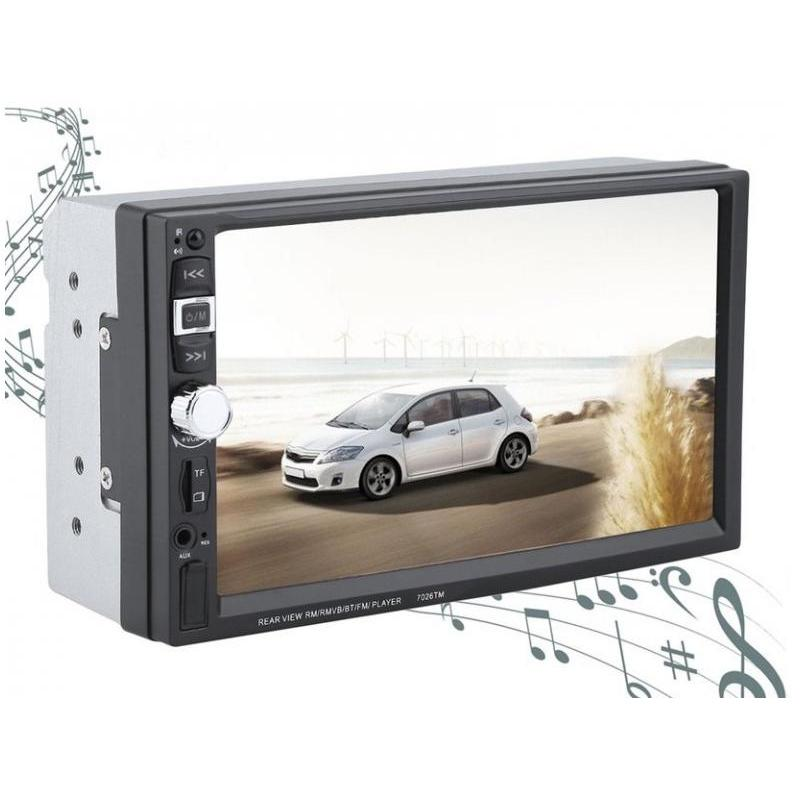 OEM Radio De Mașina 7inch Touchscreen MP5 Cu Bluetooth si Car Kit SMR7026