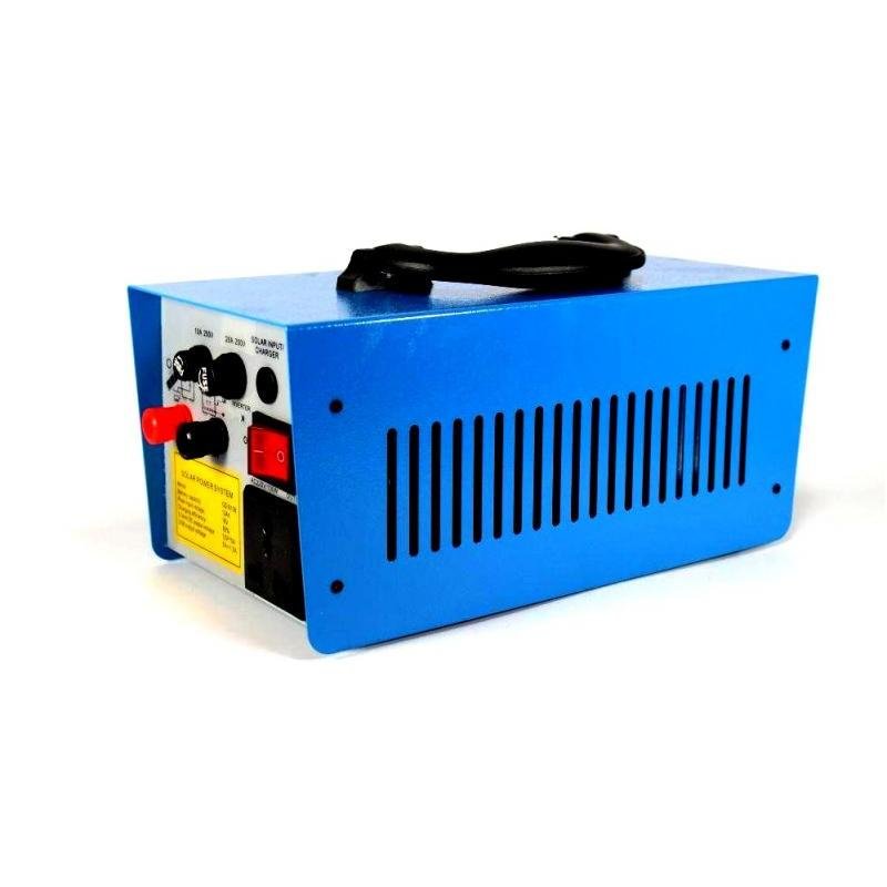 OEM Sistem Iluminare LED cu Incarcare Solara, 3 Becuri si Invertor 220v 100w GD-8018