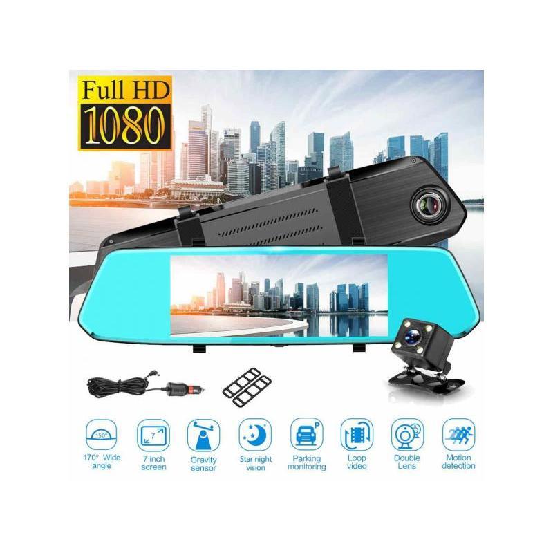 Zenteko Camera Auto Oglindă Offroad Zenteko Full HD Touch ecran 7 inch SM780