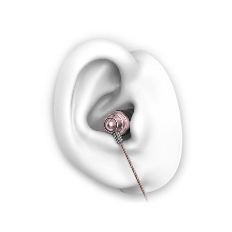 UiiSii Casti Audio In Ear UIISII US90 Roz